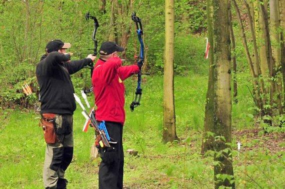 Schützen bei der LM 3D 2012 des BVNW