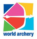 Logo des World Archery Bogensportverbandes